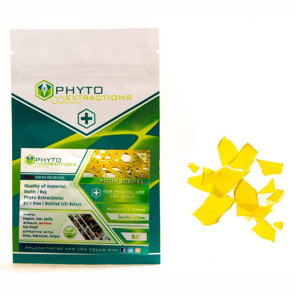 """""""Sour diesel strain concentrate from phyto extractions"""""""