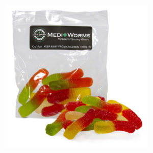 Medi Gummy worms