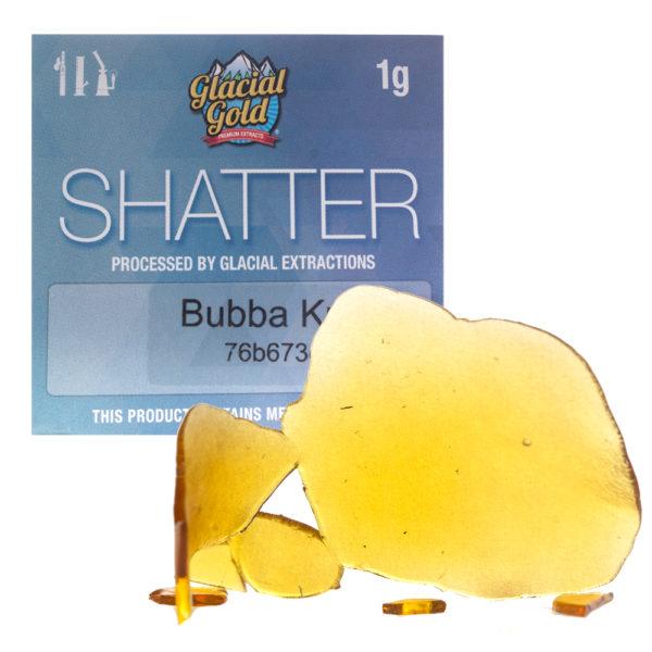 glacial-gold-bubba-kush-shatter-indica