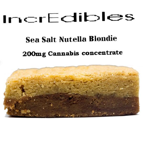 IncrEdibles-Nutella Blondie