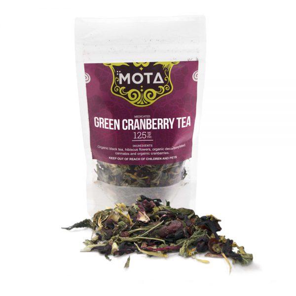 mota - cannabis tea- green cranberry