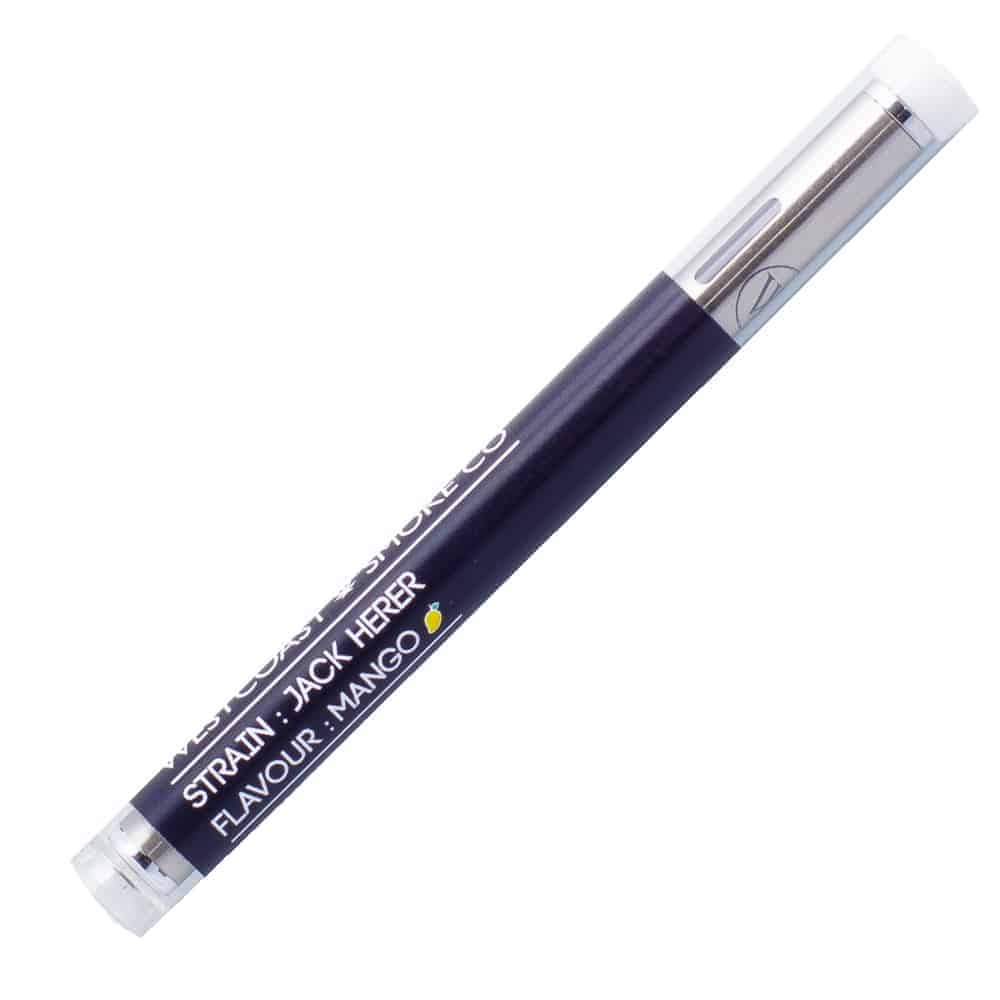 WestCoast Smoke Co – Silver Bullet Disposable Vape Pen | Goldbuds
