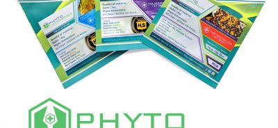 three packages of phyto extractions concentrates