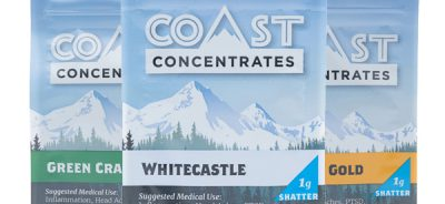 """""""three bags of coast concentrates shatter"""""""