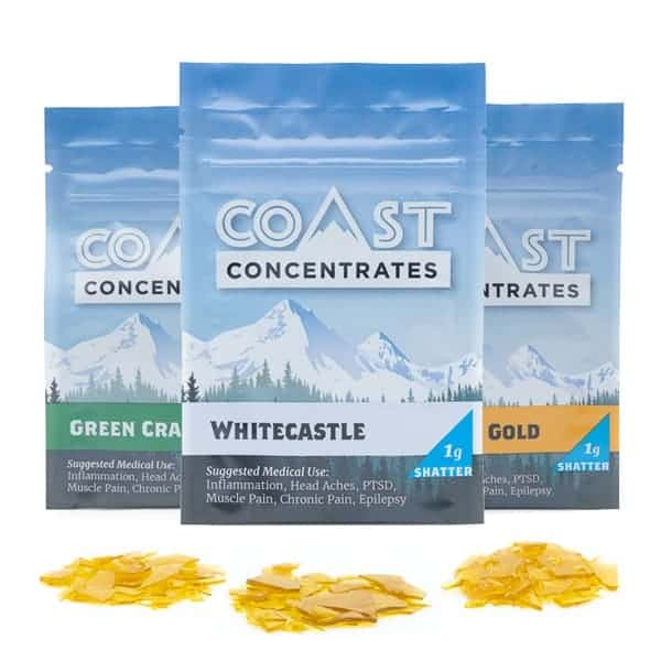 Coast Concentrates Shatter
