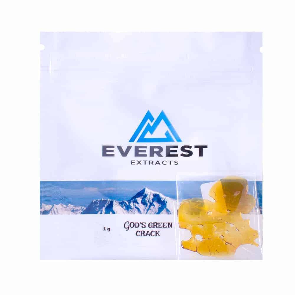 """Everest shatter gods green crack bag"""