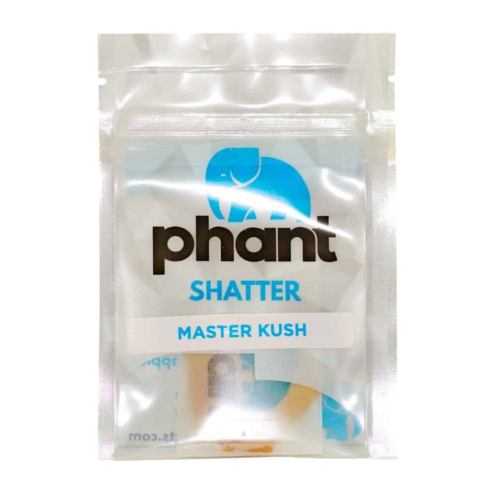 """""""1 gram bag of Phant Shatter master kush strain"""""""