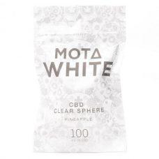 Mota White CBD Clear Sphere Pineapple 100mg CBD