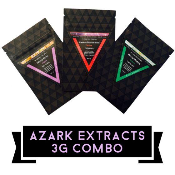 Azark Extracts – 3g COMBO