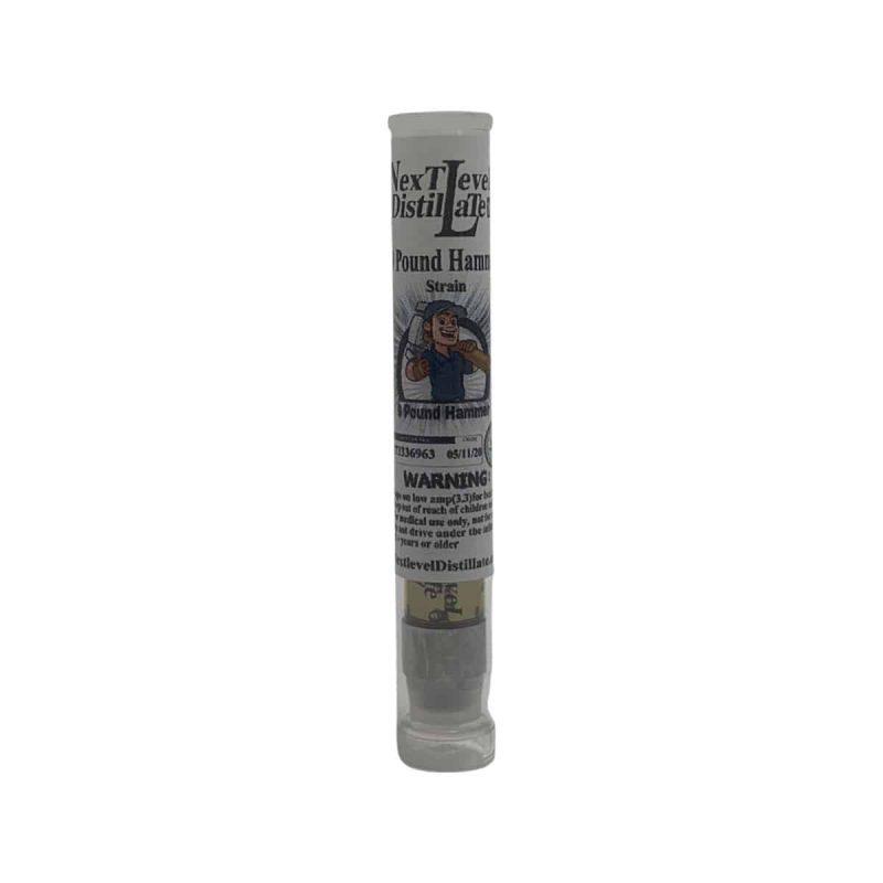 Next Level Distillate Pound Hammer Strain Vape Pen Refill Cartridge