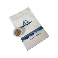 Everest Extracts Budder Animal Cookies in bag and cap