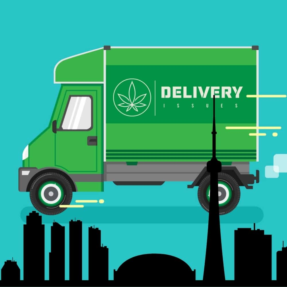 Blog post photo for Toronto weed delivery