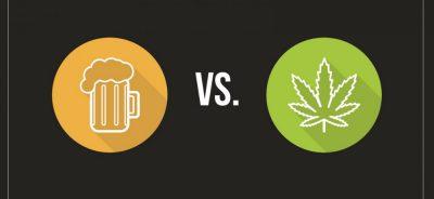 Weed vs alcohol photo