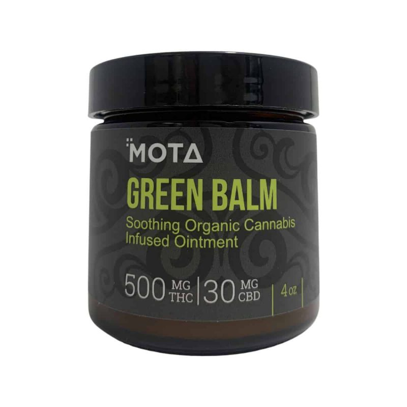 Mota Green Balm Soothing Organic Cannabis Infused Ointment