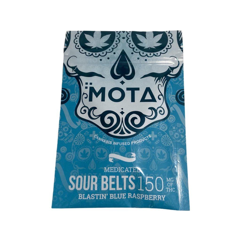 Mota Sour Belts Blastin' Blue Raspberry