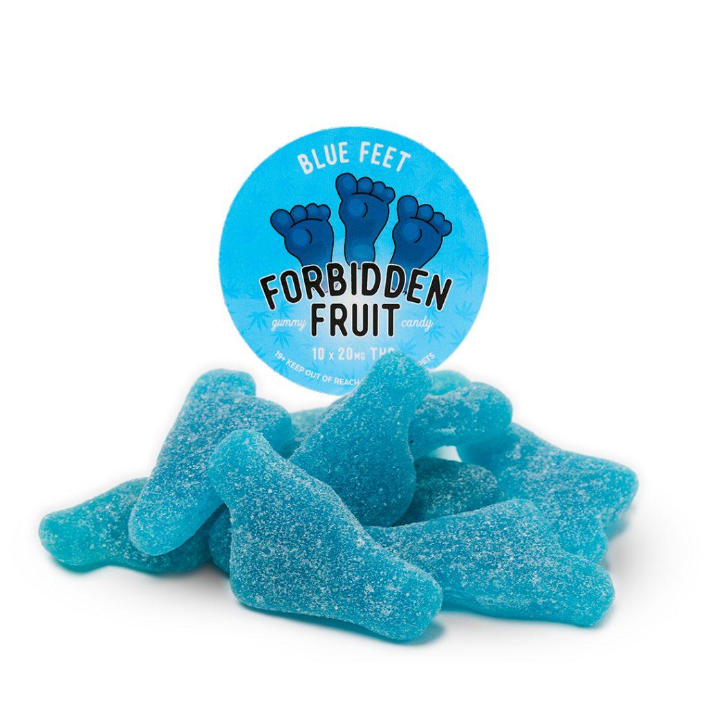 Forbidden Fruit Blue Feet