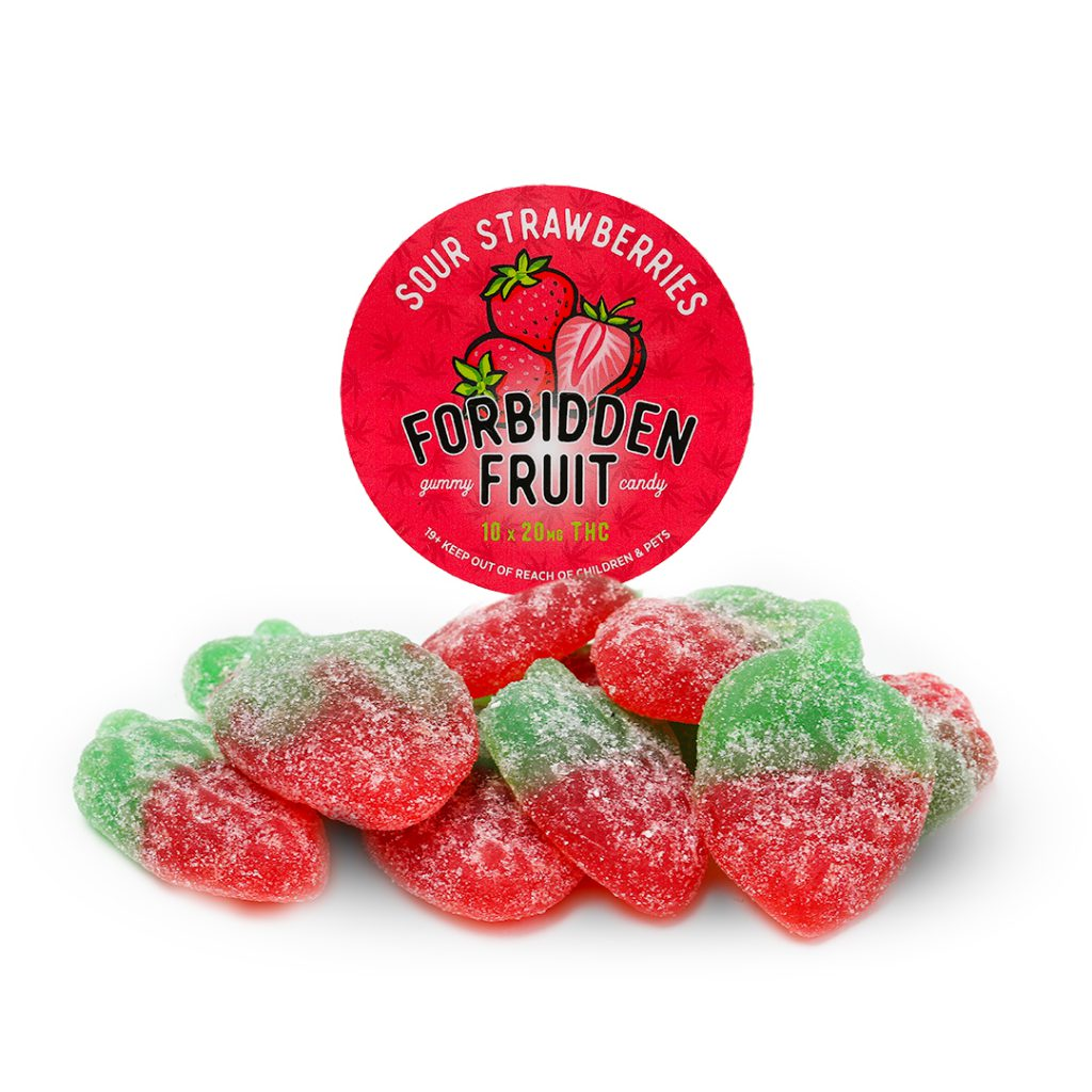 Forbidden Fruit Sour Strawberries