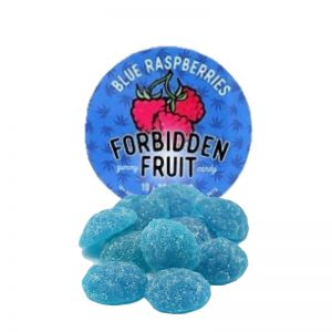 forbidden fruit blue raspberries