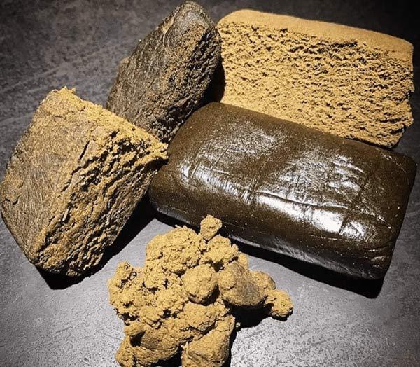 Different Marijuana Hash